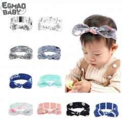 Lovely Bowknot Elastic HeadBands Newborn Baby Headbands with Knotted Bows, Girl's Hairbands for Newborn,Toddler and Children