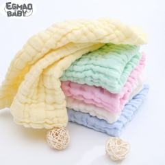 3Pcs Baby Muslin Washcloths Natural Muslin Cotton Baby Wipes Soft Newborn Baby Face Towel Muslin Washcloth for Sensitive Skin