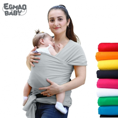Natural & Breathable Sling Lightweight Baby Carrier Sling For Infants & Babies Multifunction Newborn Backpack Kangaroo Wrap